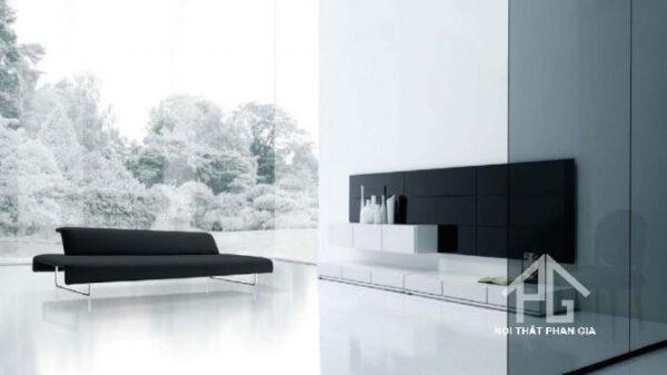 phòng ngủ với tông màu trắng