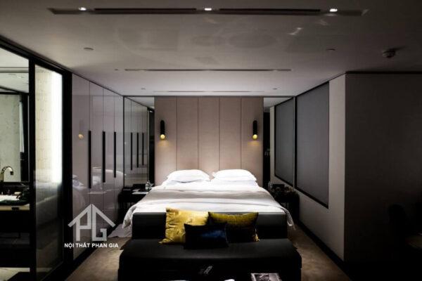 phòng ngủ thiếu ánh sáng