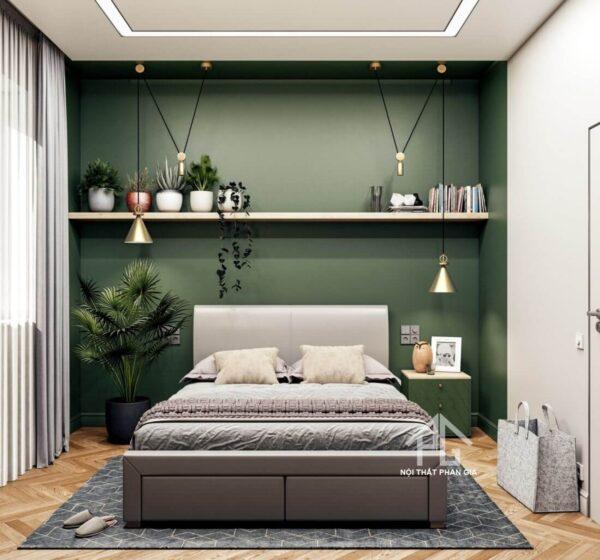 không gian lưu trữ trong phòng ngủ