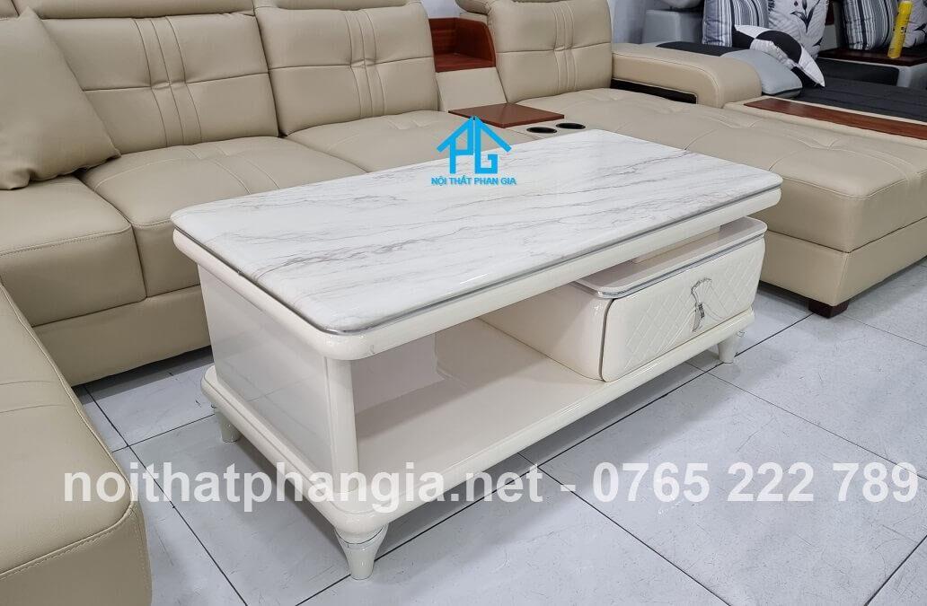 bàn trà mặt đá BT250