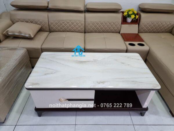 bàn trà sofa mặt đá bt251 đẹp