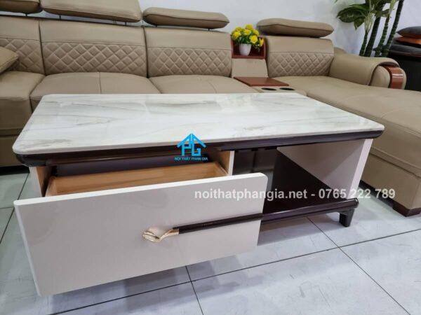 bàn trà sofa mặt đá nhập khẩu bt251