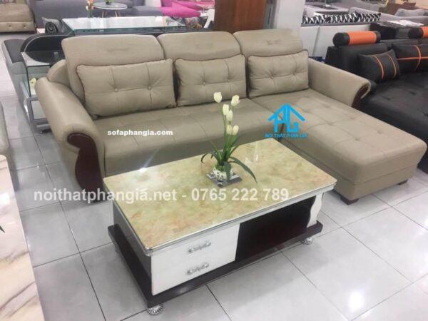 sofa da bò tiếp xúc chất lượng