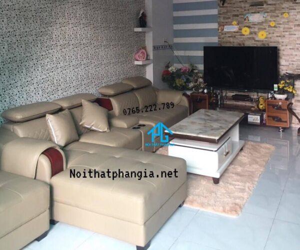 sofa da thật cao cấp giá rẻ