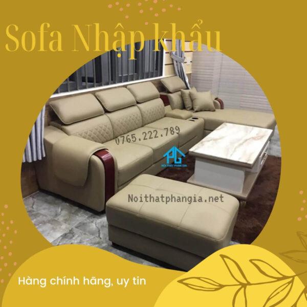 sofa nhập khẩu phan gia