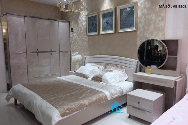 bộ giường tủ bàn trang điểm cho nàng