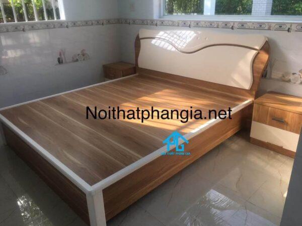 bộ giường tủ hiện đại cho phòng nhỏ