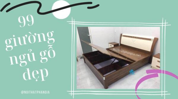giường ngủ gỗ giá rẻ đẹp cao cấp