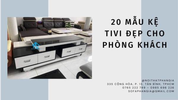 30 mẫu kệ tivi đẹp giá rẻ cho phòng khách