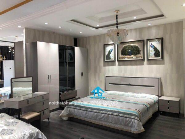 Combo giường tủ hiện đại ABF03C
