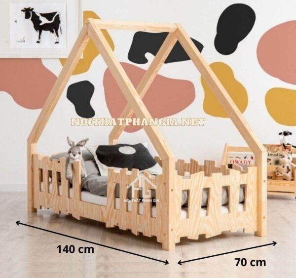 kích thước giường cũi cho bé