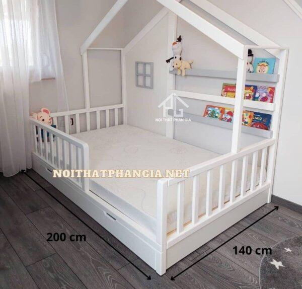 kích thước giường đôi cho bé