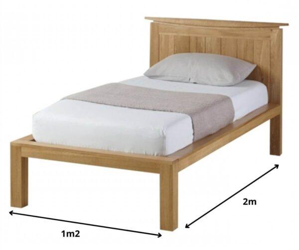 kích thước giường đơn hợp phong thủy