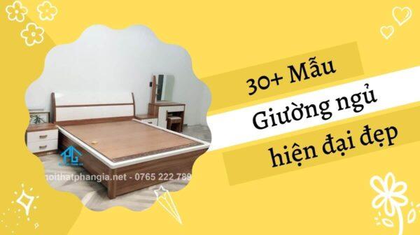mẫu giường ngủ hiện đại đẹp