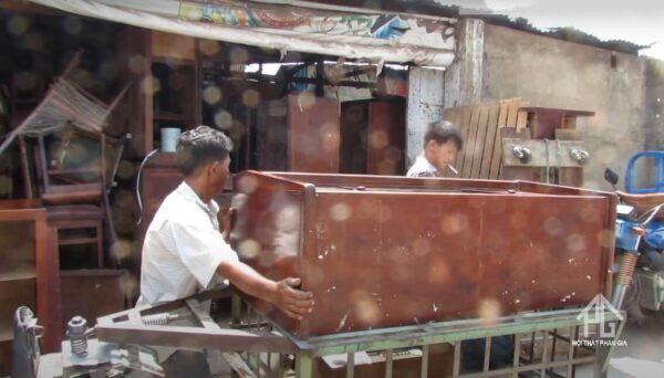 quy trình thu mua giường tủ cũ