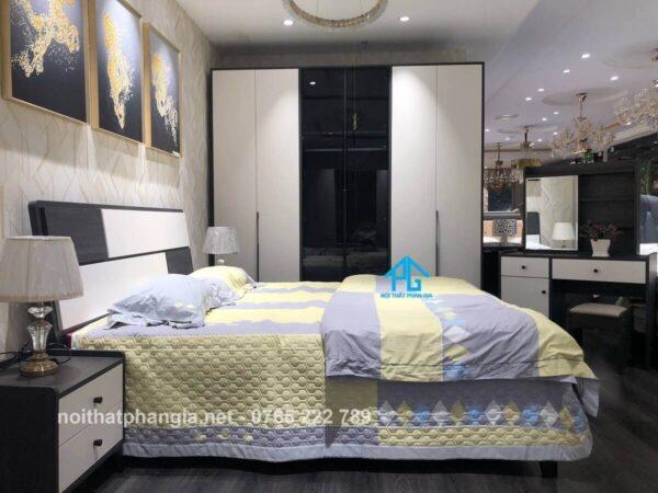 trọn bộ giường tủ nhập khẩu PG1624C