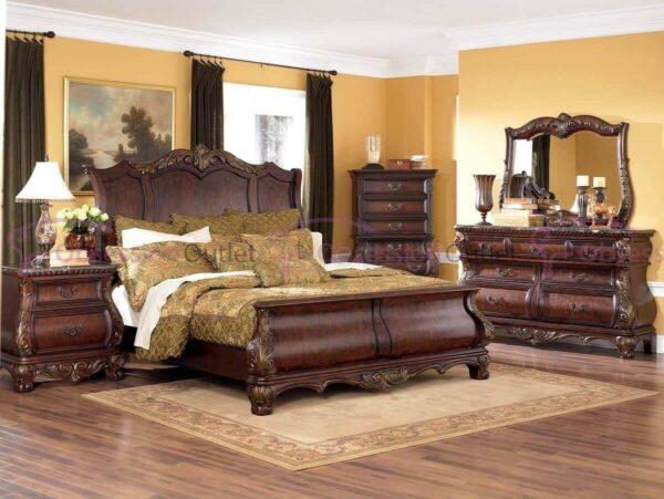 giường gỗ sưa